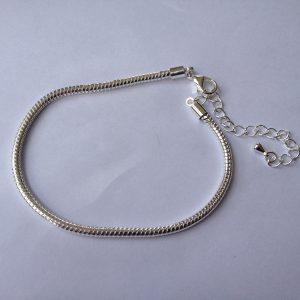 1 Snake chain bracelet