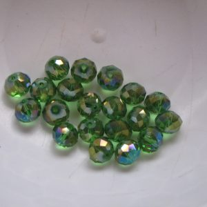 20 Green rondelles