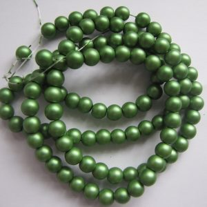 Green smooth painted 8mm
