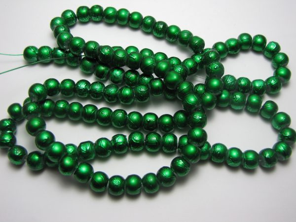 Dark green painted 8mm