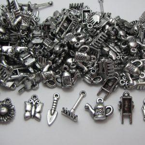 50 Gardening tool charms