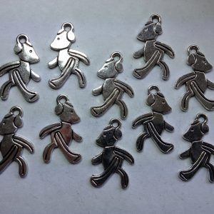 10 Teddy bear charms